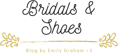 Bridal Shoes Blog by Emily Graham